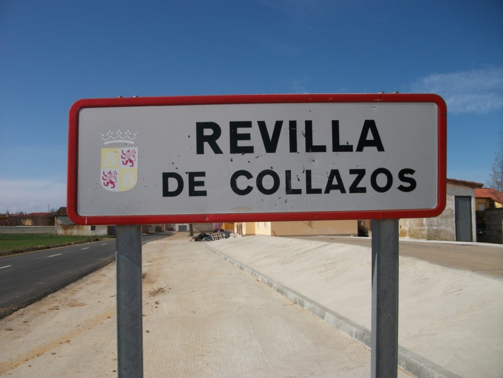 Cartel Revilla de Collazos